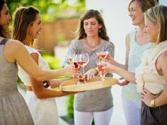 Bachelorette party ideas that don't involve plastic phallus necklaces: a girls only wine tasting Warnert Party Planning Checklist, Event Planning, Wine Tasting Party, Party Pictures, Throw A Party, Here Comes The Bride, House Party, Girls Night, Ladies Night