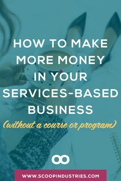A course isn't the answer when you want to make additional income in your services-based business. Here are proven tips to make more money. Business Education, Business Entrepreneur, Business Tips, Online Business, Sales Strategy, Digital Marketing Strategy, Marketing Strategies, How To Get Clients, Sales Techniques