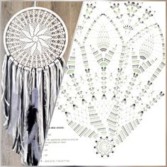 Crochet Patterns Filet, Crochet Doily Diagram, Crochet Mandala Pattern, Crochet Motifs, Doily Patterns, Crochet Doilies, Crochet Home, Knit Crochet, Doily Dream Catchers