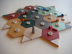 Wooden settlers of catan sets | Baust.me