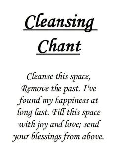 Get rid of those negative vibes with this simple spell