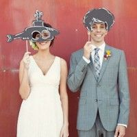 photo booth props! possibly add sparkle?...