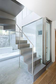 Steel Stairs