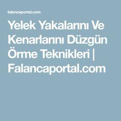 Yelek Yakalarını Ve Kenarlarını Düzgün Örme Teknikleri | Falancaportal.com