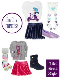 Mini Street Style - Toddler Girl Fashions