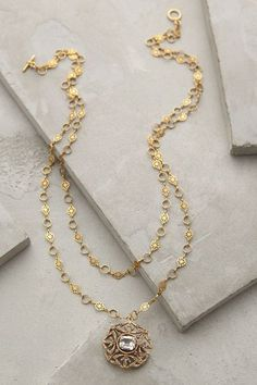 Love this double strand necklace