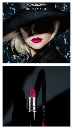 Retro Matte lipstick and liner coming from MAC! (I THINK this is Flat Out Fabulous.really want this, looks amazeballs with black--my go-to color! Kiss Makeup, Mac Makeup, Love Makeup, Makeup Tips, Makeup Looks, Retro Makeup, Makeup Ideas, All Things Beauty, Beauty Make Up