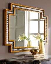 "Global Views ""Thin Sunray"" Mirror - Neiman Marcus"