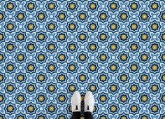 Moroccan Pattern Vinyl Flooring, leading Vinyl Flooring designed and manufactured by Atrafloor. Bring any design to life as Flooring. Shipping Worldwide.