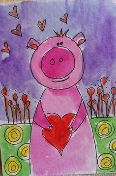 Pig Easy Art