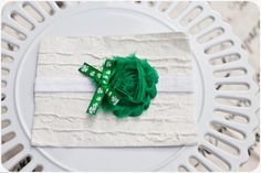 St Patrick's Day Baby Headband Baby by SweetNSimpleCompany on Etsy, $5.95