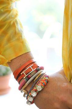 Multiple bracelets