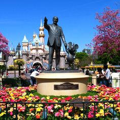 Disneyland, California. Been here once. But I'd rather visit the one in Florida. It has the MGM Studios, where the reality is.