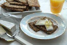 My Little Kitchen: Grove knekkebrød med honning