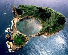 Ilhéu de Vila Franca, São Miguel, Açores Azores Island - Portugal