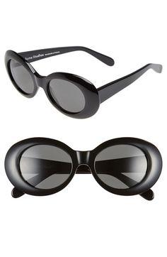 ACNE Studios 'Mustang' Oval Sunglasses