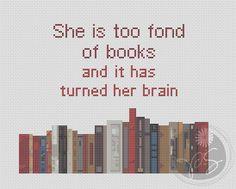 She is too fond…