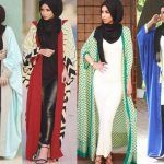 Latest Abaya designs for 2016