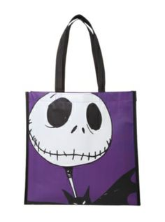 The Nightmare Before Christmas Jack Characters Large Shopper Tote