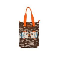 Pices Jute Brown Bag