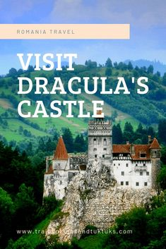 """Bran Castle is commonly known as """"Dracula's Castle."""" It's in Transylvania, Romania near Brasov. Discover all the things to do at Bran Castle, the best photo ops at Bran Castle, how to get to Bran Castle from Brasov, and more... #romania #travel"""