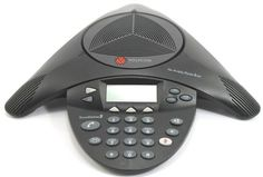 Polycom SoundStation 2 Non Expandable Analog Conference Phone Phone, Conference, Accessories, Telephone, Phones, Ornament