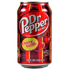 A splash of cherry, a hint of vanilla, and the authentic taste of Dr Pepper-a refreshing blast from the past. Description from myamericanmarket.com. I searched for this on bing.com/images