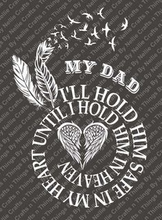 Spiral In Memory- DAD SVG by CraftsnThingsByNelly on Etsy