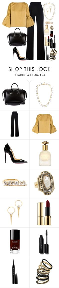 """Untitled #3028"" by fashion-nova ❤ liked on Polyvore featuring Givenchy, Marie Hélène de Taillac, Misha Nonoo, Bottega Veneta, Christian Louboutin, Kimberly McDonald, Moritz Glik, Alexis Bittar, Ciaté and Chanel"