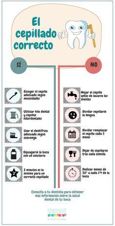 Consejos para realizar el cepillado perfecto.  #OdontoTIP #DentalCare #SaludBucal