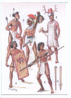Native American Warrior, Tribal Warrior, Inca, Historical Art, Fantasy Inspiration, Military History, Dark Fantasy, Middle Ages, Ancient History