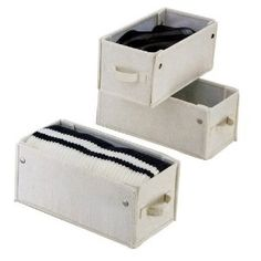 Organize It All Set of 3 Natural Drawer 5966