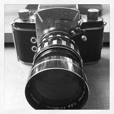 Vintage Exa camera.