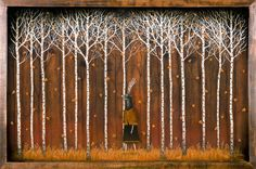 Andy Kehoe - Strolling Through a Close Enchantment #andykehoe #jonathanlevinegallery