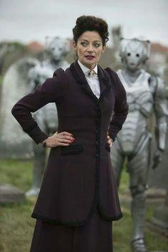 Evil Mary Poppins; good on ya, Moffat. <<MISSY or MASTER