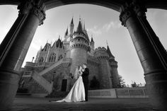 Dance with your loved one in the shadow of Cinderella Castle. Photo: Stephanie, Disney Fine Art Photography