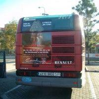Publicidad autobús Valencia - LA GRAN EMPRESA SALA CAROLINA