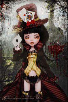 Monster High: Mad Hatter Lady (Draculaura) OOAK repaint redress rehair | eBay