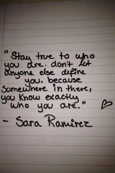 Sara Ramirez quote