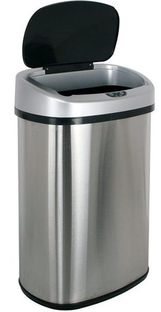 36 Qt Large Open Wastebasket 9 Best Top 9 Best Stainless Steel Trash Cans On Sale Images On