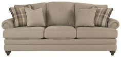 Cadence Traditional Styled Sofa with Comfortable ComfortCore Technology by La-Z-Boy - Wolf Furniture - Sofa Pennsylvania, Maryland