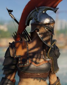 Assassin's Creed Odyssey The Assassin, Arte Assassins Creed, Assassins Creed Odyssey, Greek Warrior, Fantasy Warrior, Fantasy Characters, Female Characters, Mode Steampunk, Spartan Warrior