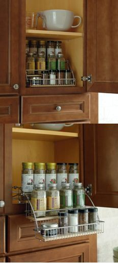Superbe No Reaching Or Straining Required When Stored Items Come Down To Eye Level.  By Thomasville · Kitchen Cabinet ...
