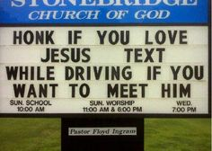 .Ha, ha!!! I LOVE this sign!!!!!!!!!!!