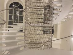 Somerset house stair - London  design Arch. Eva Jiricna Architects