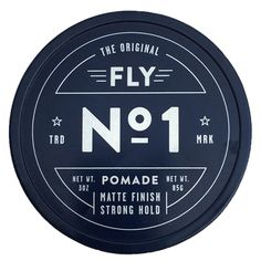 No.1 Pomade Matte Finish - The perfect pomade to give either that matte or shiny look that you are going for.  With a hint of vanilla and sandalwood fragrances, it is sure to gain attention.  Not only does it look and smell good, but it also conditions your hair with Vitamin E and Coconut Oil.
