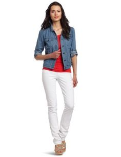 Calvin Klein Jeans Women's Petite Chambray Denim Jacket Calvin Klein Jeans. $39.75. Machine Wash. Gathering at the back, 3/4 sleeves. 60% Cotton/40% Tencel. Boxy fit with two small pockets on top and two side pockets. Made in China