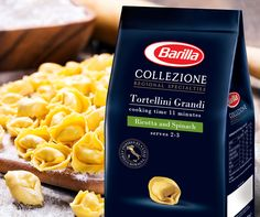 Some Italians say there are as many mythical stories around this pasta as the number of Tortellini you would find in a pack. Enjoy an authentic Italian meal for the whole family with Tortellini made with rich cheese and spinach!