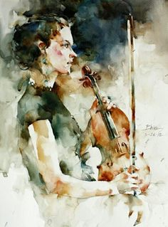 Watercolor by Bhira Phokthavi