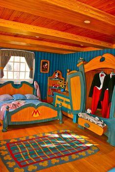 This one is literally the House of the Mouse! This one is literally the House of the Mouse! Casa Disney, Disney Home, Hotel Disneyland Paris, Mickey House, Disney World Pictures, Disney Bedrooms, Disney Magic Kingdom, Disney Resorts, Disney Fan Art